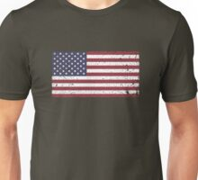 Vintage Look Stars and Stripes American Flag Unisex T-Shirt