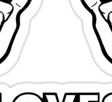 Girls love Rafa Nadal Sticker