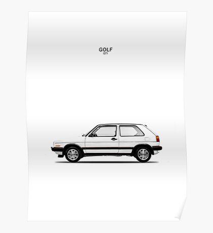 Golf GTi Poster