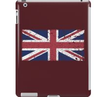 Vintage look Union Jack Flag of Great Britain iPad Case/Skin