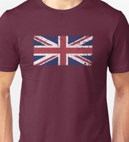 Vintage look Union Jack Flag of Great Britain Unisex T-Shirt