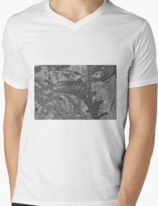 sketch Mens V-Neck T-Shirt