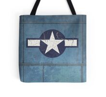 Vintage Look USAAF Roundel Graphic Tote Bag
