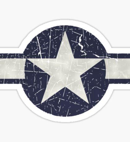 Vintage Look USAAF Roundel Graphic Sticker