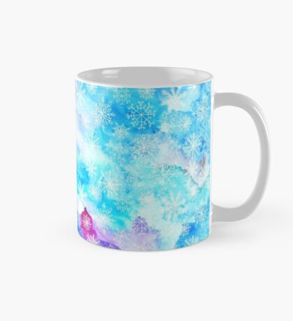 Snowflakes in the winter Mug