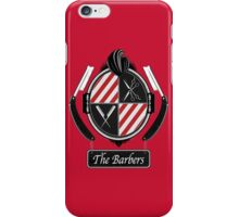 The barbers iPhone Case/Skin