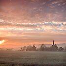 St Margaret's At Dawn  by Dave Godden