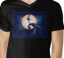 Robert Skellington - Full Color Mens V-Neck T-Shirt