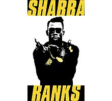 Shabba Ranks Photographic Print