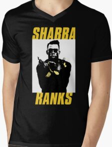 Shabba Ranks Mens V-Neck T-Shirt