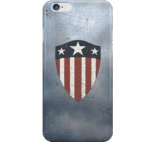 Vintage Look USA WW2 Captain America Style Shield iPhone Case/Skin