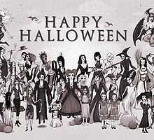 Ladies of Halloween! by Sam Pea