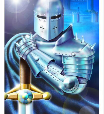 Blue Knight Sticker