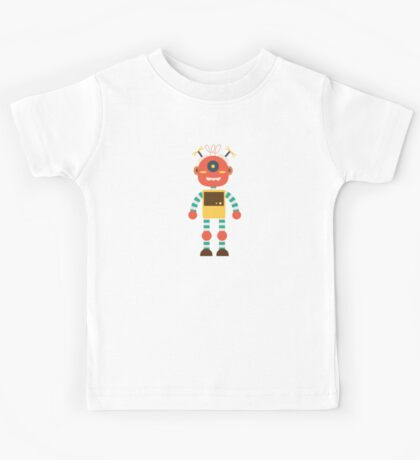 MY ROBOT FRIEND Kids Tee