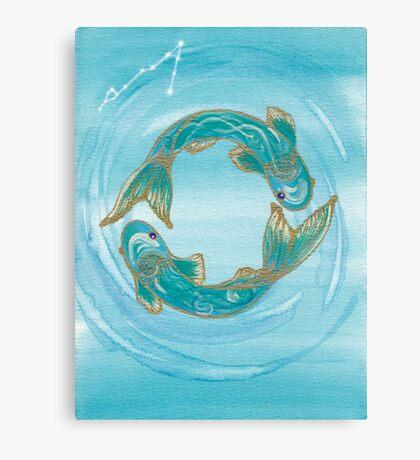 Pisces - spirituality Canvas Print