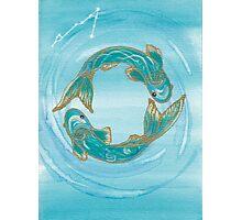 Pisces - spirituality Photographic Print