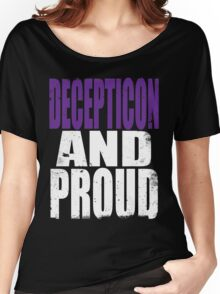 Decepticon AND PROUD Women's Relaxed Fit T-Shirt
