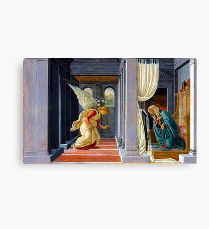 Botticelli The Annunciation Canvas Print