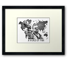 A World Of Pain b Framed Print