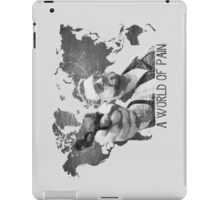 A World Of Pain b iPad Case/Skin