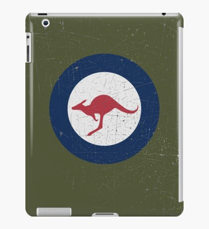 Vintage Look Royal Australian Air Force Roundel  iPad Case/Skin