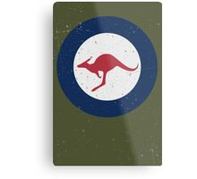 Vintage Look Royal Australian Air Force Roundel  Metal Print