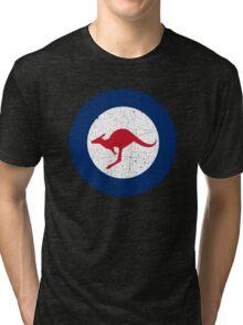 Vintage Look Royal Australian Air Force Roundel  Tri-blend T-Shirt
