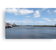 Whitby Harbour - North Yorkshire Canvas Print