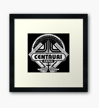 Centauri Games Framed Print