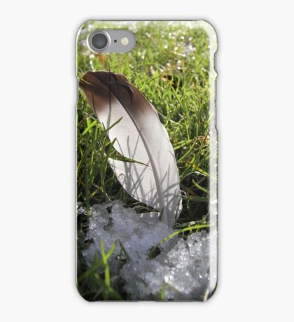Thaw and feathers iPhone Case/Skin