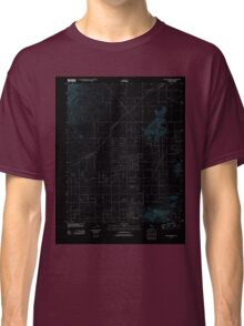 USGS TOPO Map California CA Willow Springs 20120405 TM geo Inverted Classic T-Shirt