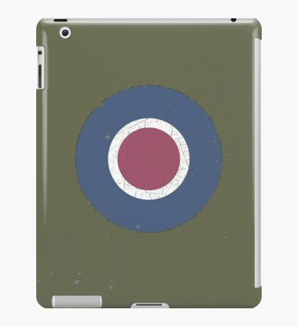 Vintage Look WW2 British Royal Air Force Roundel iPad Case/Skin