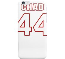 NFL Player Chad Abram fortyfour 44 iPhone Case/Skin