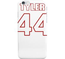 NFL Player Tyler Clutts fortyfour 44 iPhone Case/Skin