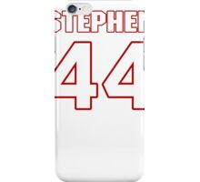 NFL Player Stephen Houston fortyfour 44 iPhone Case/Skin