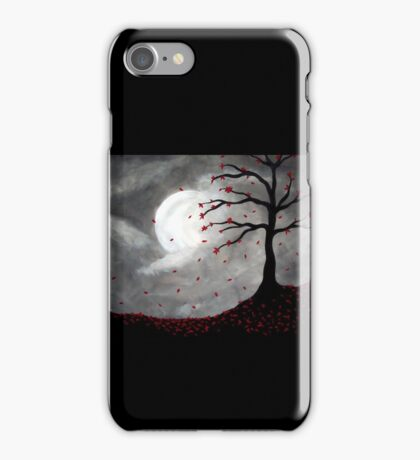 Autumn by Moonlight iPhone Case/Skin