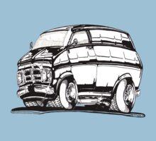 CF Bedford van 1971 by designbycee