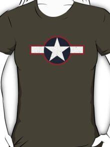 Vintage Look US Forces Roundel 1943 T-Shirt
