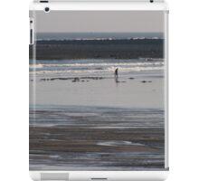 Sea Fishing - Bait Digging iPad Case/Skin