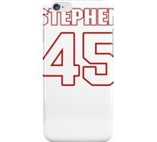 NFL Player Stephen Campbell fortyfive 45 iPhone Case/Skin