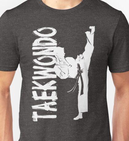 Taekwondo High Kick Boy 2 - Korean Martial Art Unisex T-Shirt