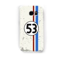 Vintage Look 53 Car Race Number Graphic Samsung Galaxy Case/Skin