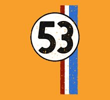 Vintage Look 53 Car Race Number Graphic T-Shirt