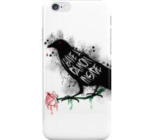 Damon crow version iPhone Case/Skin