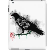 Damon crow version iPad Case/Skin