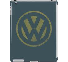 Vintage Look Volkswagen Logo Design iPad Case/Skin