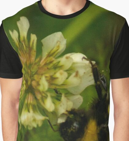 Bumble Bee Photography Print Graphic T-Shirt