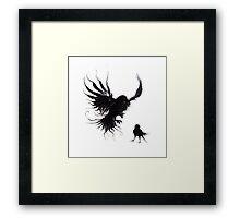 Forest Raven Framed Print