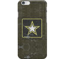 Vintage Look US Army Star Logo  iPhone Case/Skin