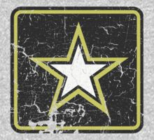 Vintage Look US Army Star Logo  Kids Clothes